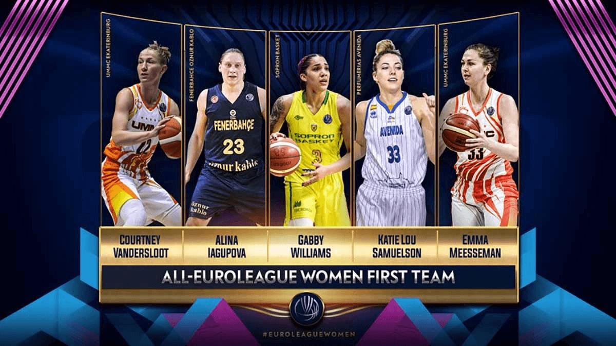 Koblenz Derneği Kadınlar Euroleague'de en iyi beşler belli oldu